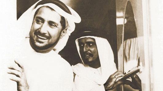 HH Sheikh Ahmed Bin Ali Al Thani, Former Ruler of Qatar, and Mr. Abdullah Darwish