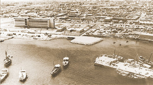 Doha city in the 1970s