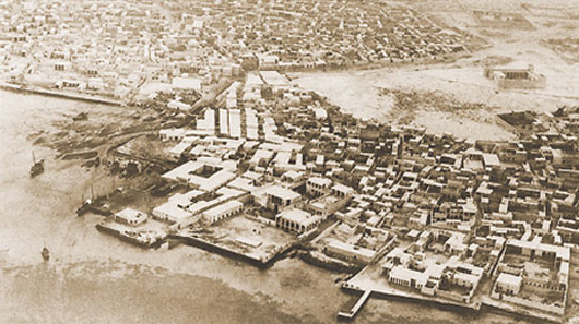 City of Doha in the 1960s